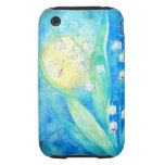 Lilies Of The Valley With Butterfly iPhone 3 Tough Covers