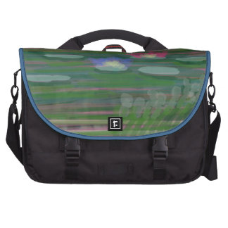 Lilies on Water Laptop Bags