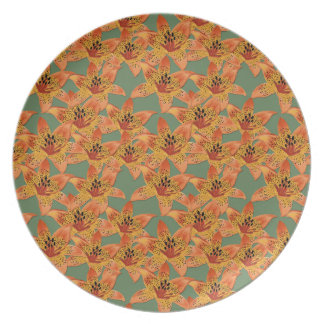 Lilies Plate