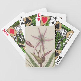 Lilies Playing Cards Bicycle Playing Cards