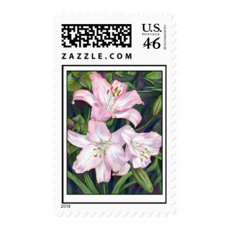 Lilies Postage