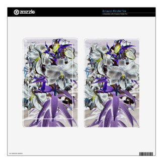 Lilies Skins For Kindle Fire