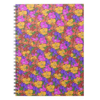 Lilies Spiral Notebooks