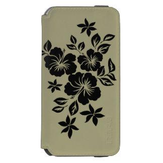 Lilikoi Hibiscus Hawaiian Floral iPhone 6/6s Wallet Case