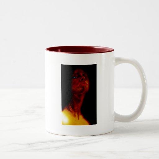 Lilith 2 taza de café de dos colores