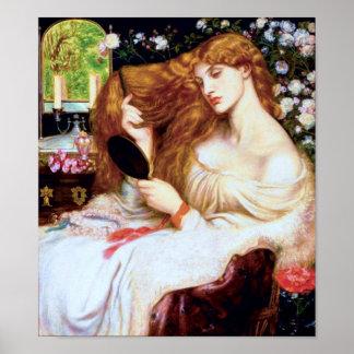 Lilith con el pelo rojo impresiones
