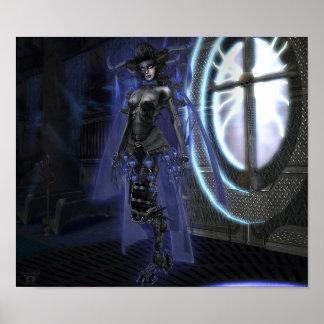 Lilith la impresión cibernética del demonio impresiones