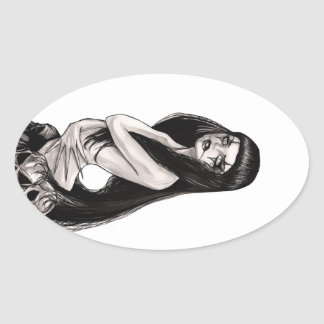 Lilith Oval Sticker
