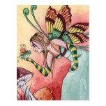 Lilith - postal de la hada de la rana