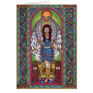 Lilith The Dark Maidern 001 rb Greeting Card