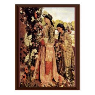 Lilium Auratum de Lewis Juan Frederick</ Postales