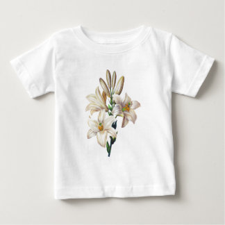 Lilium Candidum or Madonna Lily By Redoute Baby T-Shirt