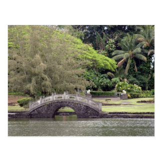 Lili'uokalani Park Bridge Postcard