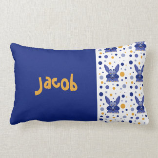 Lill Me Blue 01 Baby Name Pillows