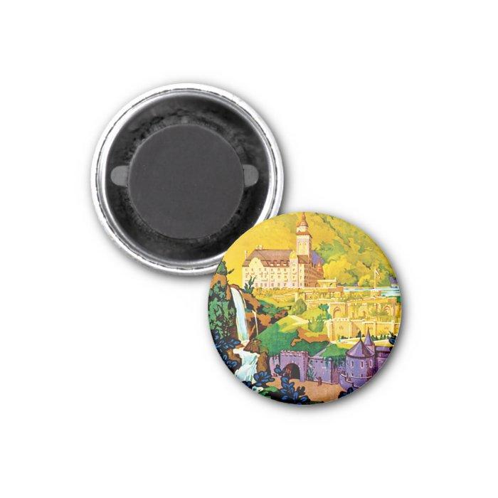 Lillafured Hungary 1 Inch Round Magnet