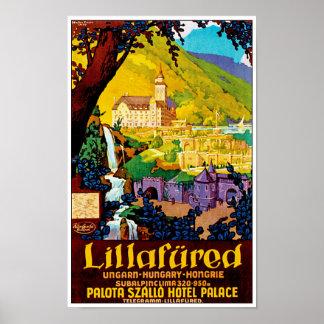 Lillafured Hungary Poster