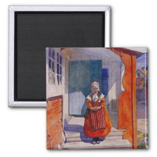 Lillanna 1912 2 inch square magnet