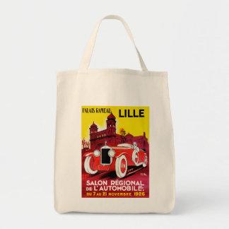 ~ Lille de Salon Regional De L'Automobile Bolsa Tela Para La Compra