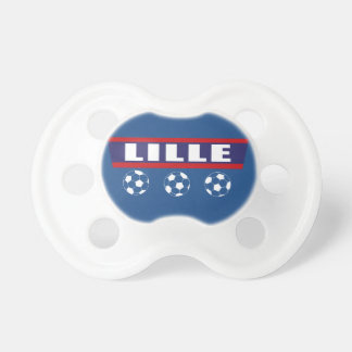 Lille northern football Inhabitant of Lille Pacifier