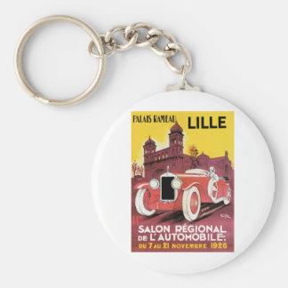 Lille Salon Regional de L'Automobile Basic Round Button Keychain
