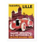 Lille Salon Regional de L'Automobile Tarjetas Postales