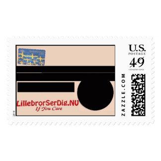 LillebrorSerDig.NU #3 Postage Stamp