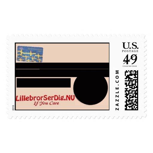 LillebrorSerDig.NU #3 Postage Stamps