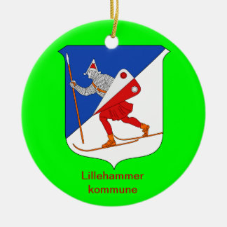 Lillehammer Norway Christmas Ornament