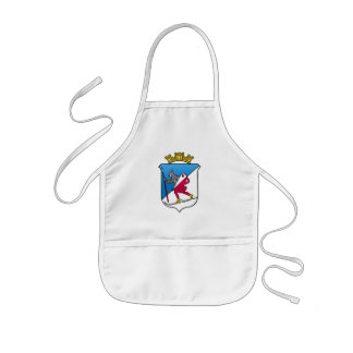 Lillehammer Norway Coat of Arms Heraldry Kids' Apron