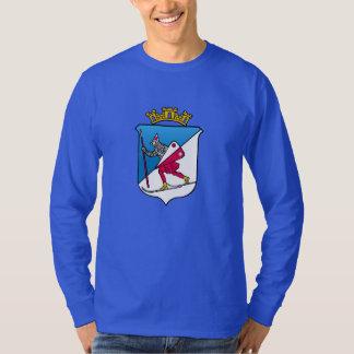 Lillehammer Norway Coat of Arms Heraldry Tee Shirt