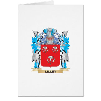 Lilley Coat of Arms - Family Crest Greeting Card
