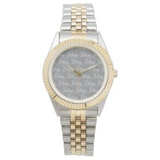 Lillian - diseño moderno del nombre de la reloj