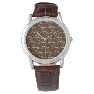 Lillian - diseño moderno del nombre de la relojes