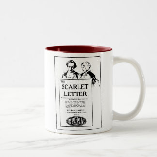 Lillian Gish THE SCARLET LETTER 1927 Two-Tone Coffee Mug