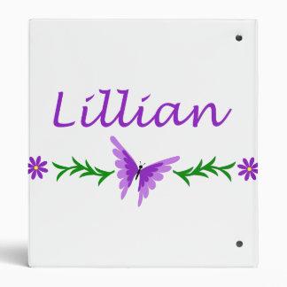 """Lillian (mariposa púrpura) carpeta 1"""""""