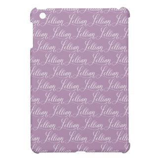 Lillian - Modern Calligraphy Name Design iPad Mini Cover