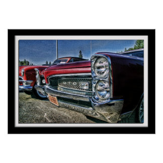 Lillian Photography HDR Car Posters