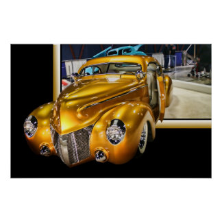 Lillian Photography HDR Popout Car Poster