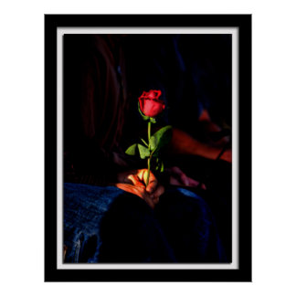 Lillian Photography HDR Rose Print