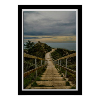 Lillian Photography Path to Ocean Poster