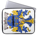 Lillie Family Crest Laptop Computer Sleeves