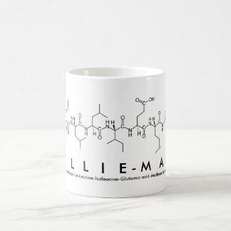 Lillie-Mae peptide name mug
