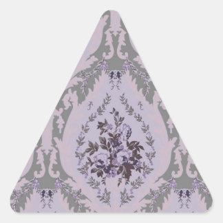 """""""Lillie"""" Wallpaper- Purple Triangle Sticker"""