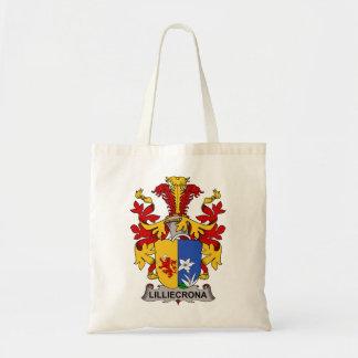 Lilliecrona Family Crest Canvas Bags
