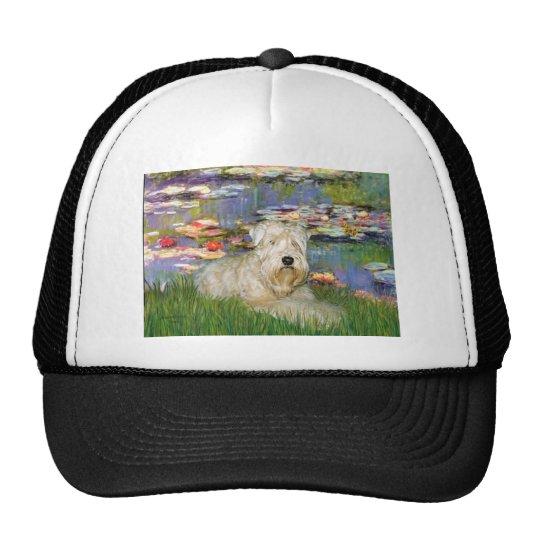 Lillies 2 - Wheaten Terrier 1 Trucker Hat