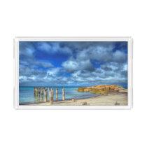 Lillies Beach | Wybalena, Flinders Island Acrylic Tray
