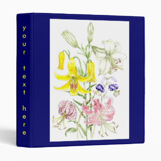 'Lillies' Binder