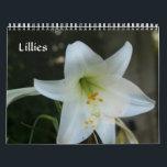 """Lillies Calendar<br><div class=""""desc"""">Beautiful lillies taken at Missouri Botanical Garden</div>"""