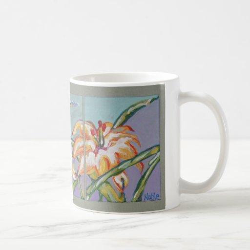 Lillies of the field mug