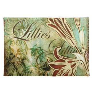 Lillies Placemat